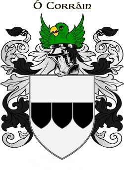 CURRAN family crest