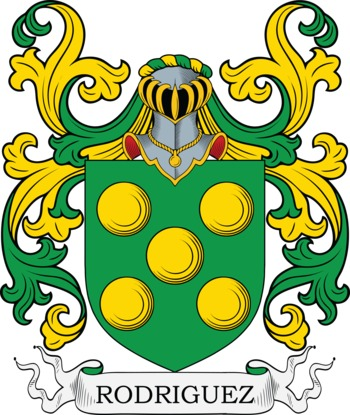 RODRIGUEZ family crest