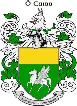 O'QUINN family crest