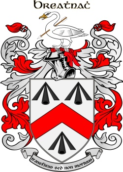 WALSH family crest