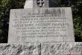 English Civil War monument to Royalist Sir Lucius Cary at Newbury Berkshire